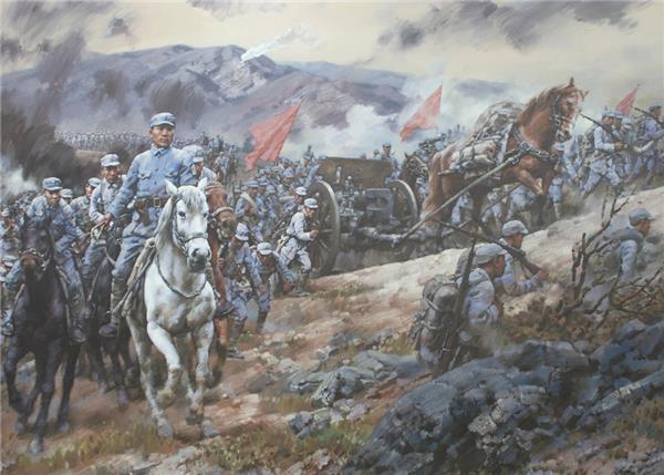 八路军115师挺进沂蒙山